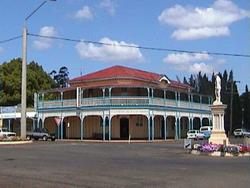 Hotel Radnor, Blackbutt Queensland.  Named after an unfortunate event.
