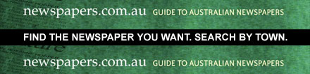Guide to Australian Newspapers