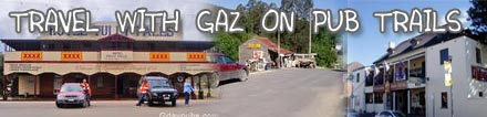Gaz's Pub trails, visit a Pub or two
